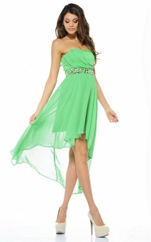 Нежно зеленый цвет для платья
