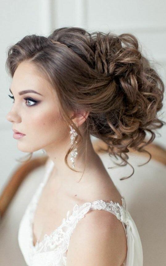 фото прически невесты