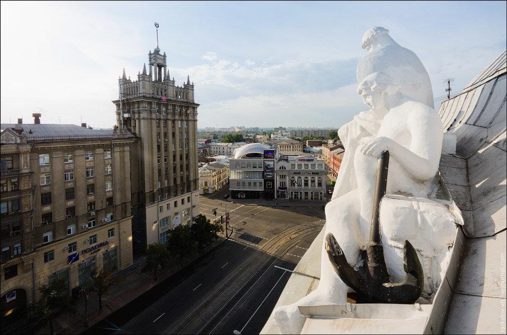 харьков украина фото архитектура скульптура самодельный