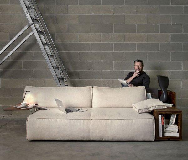 33 модели удобной мягкой мебели для гостиной