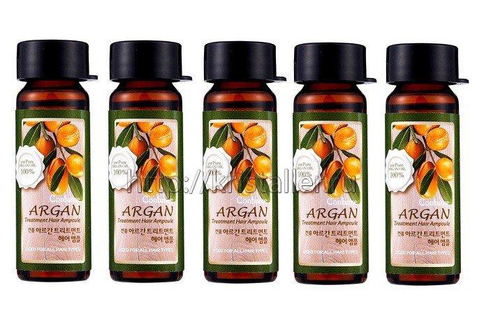 Ампулы для волос на основе арганового масла
