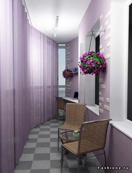 Балкон- это удобно и красиво / идеи балконов