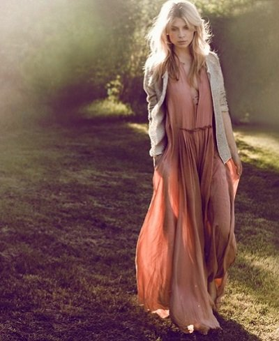 Богемный стиль одежды фото.
