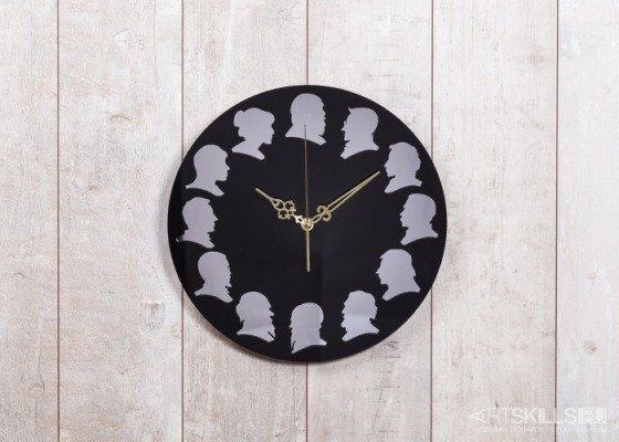 """Черные настенные часы """"Классики"""" от 2200 руб: лучшая цена и магазины, где купить"""
