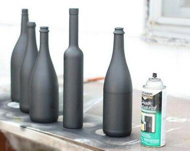 декор бутылок своими руками мастер класс