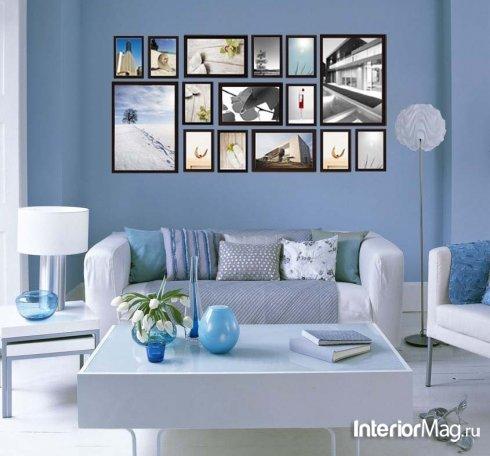 Декор стен - фото, красивые идеи и варианты украшения стен своими руками | ИнтерьерМаг.ру