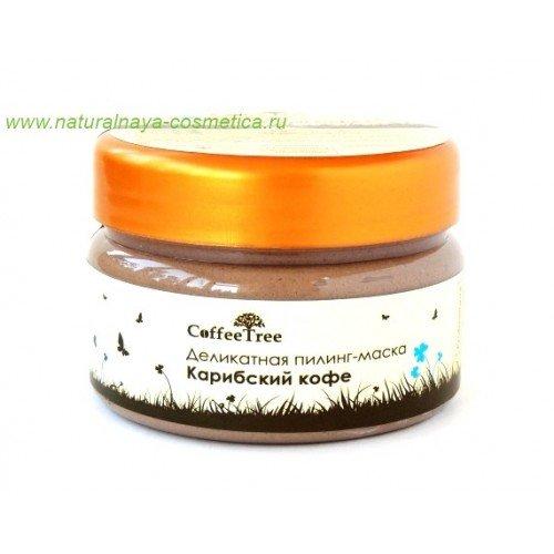 Деликатная пилинг-маска Карибский кофе vi-cosmetics купить в интернет магазине Москва