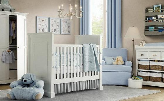 Детская комната для новорожденного photo