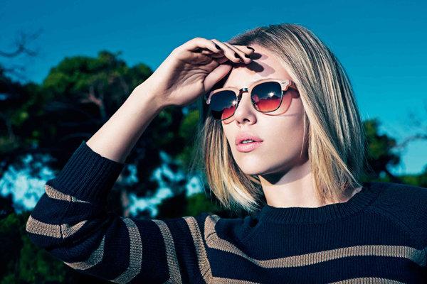 Девушки в солнечных очках