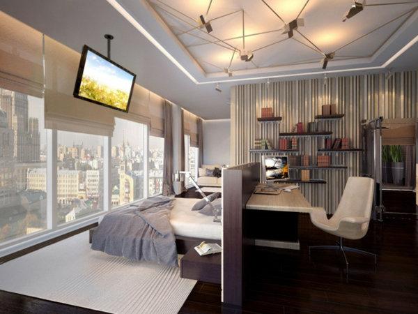 Домашний кабинет дизайн и организация