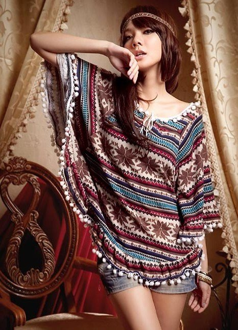 этнический стиль в одежде 7
