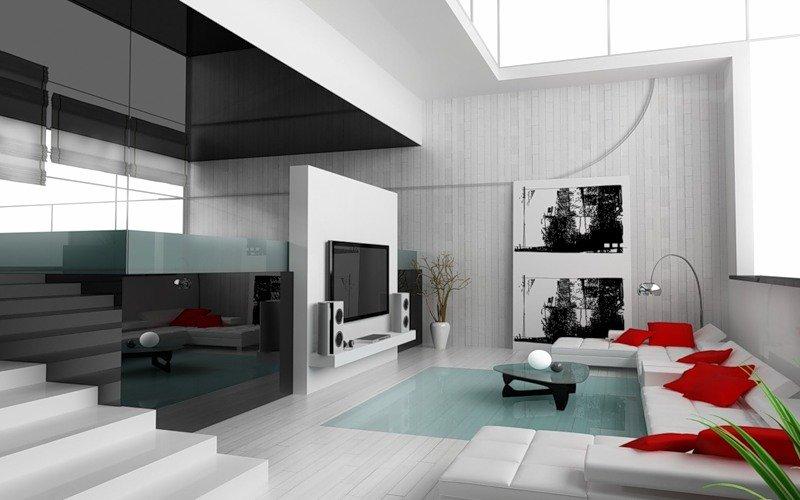 Гостиная в стиле минимализм: фото, советы | Строительный портал