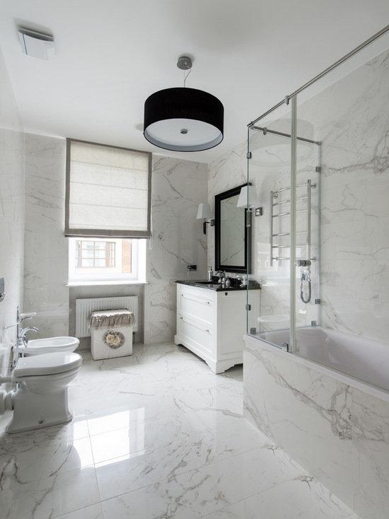 Идеи дизайна ванных комнат, примеры проектов   ванные комнаты фото