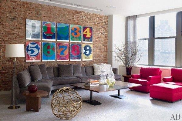 Интерьер в стиле поп-арт: Для ярких и дерзких (ФОТО) - Интерьер дома или квартиры - дизайн интерьера, интерьер по фен-шуй, интерьер кухни, спальни, комнаты, ванной - IVONA - bigmir)net - IVONA