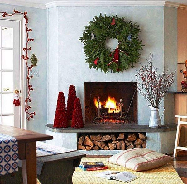 как украсить дом на новый 2015 год