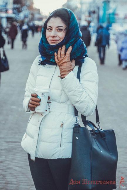 как завязывать шарфы платки палантины на голове