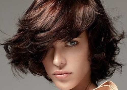 Каштановый цвет волос (фото)