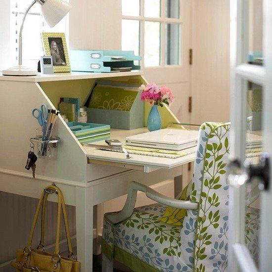 Хранение и порядок на рабочем месте дома в деталях