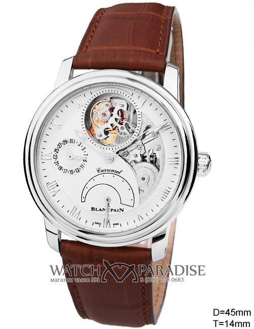 Копии швейцарских часов Blancpain Le Brassus Tourbillon 2600028 в интернет магазине «Watchparadise»