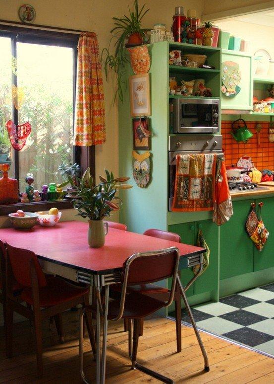 Кухня в стиле бохо
