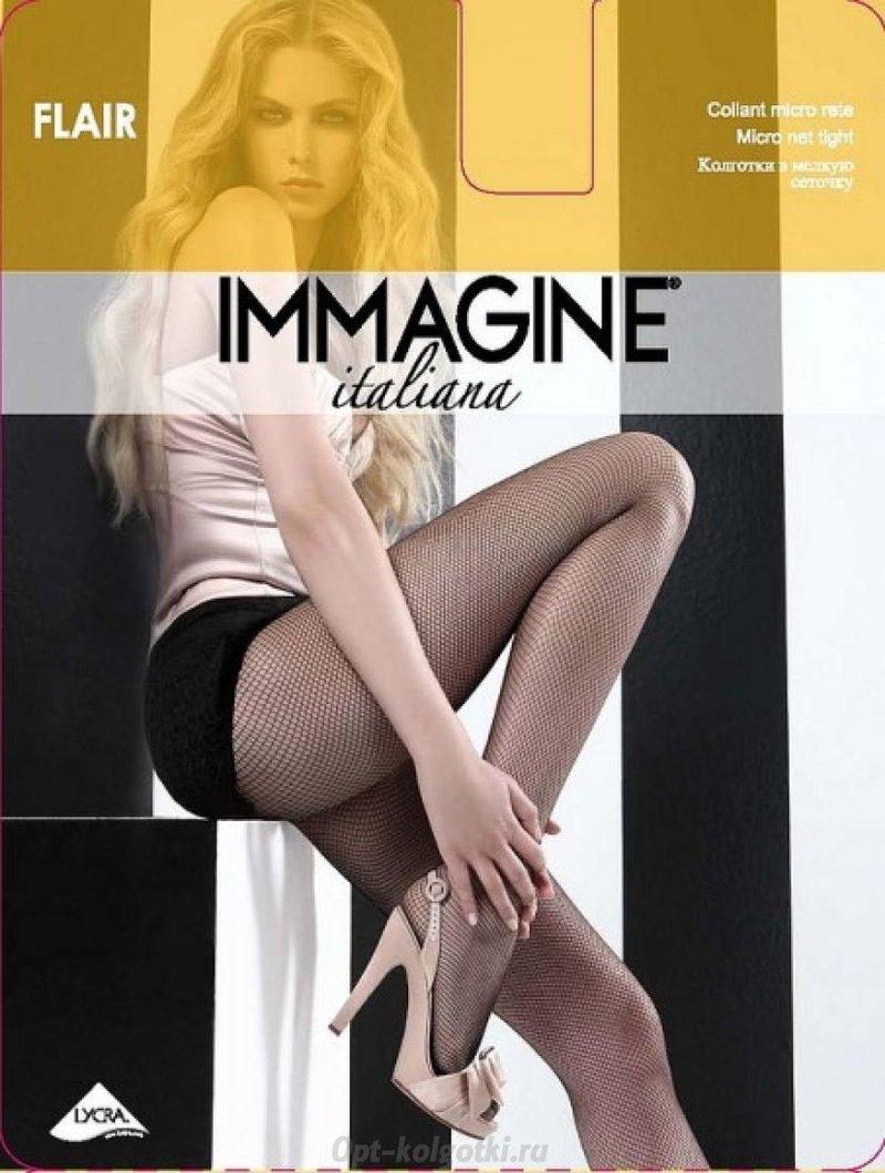 Купить IMM-Flair IMMAGINE Italiana Колготки — Колготки в сетку в интернет-магазине Opt-kolgotki.ru
