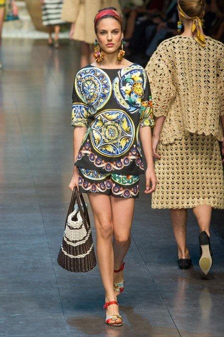 Модная экзотика: этнический стиль в одежде — фото 19