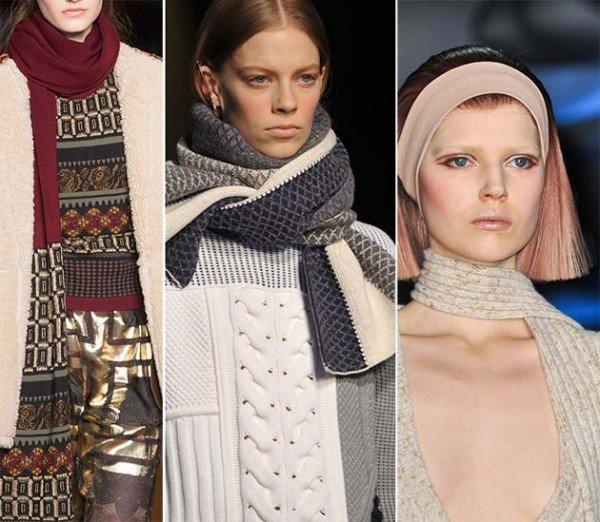 Модные аксессуары осень - зима 2015 - 2015: обзор с фото