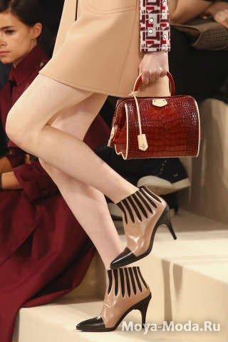 Модные ботильоны осень-зима 2014-2015 Louis Vuitton