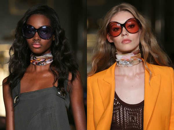 Модные очки весна-лето 2015: стрекоза