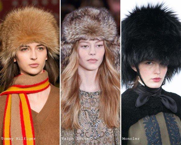 Модные шапки осень зима 2015 2016