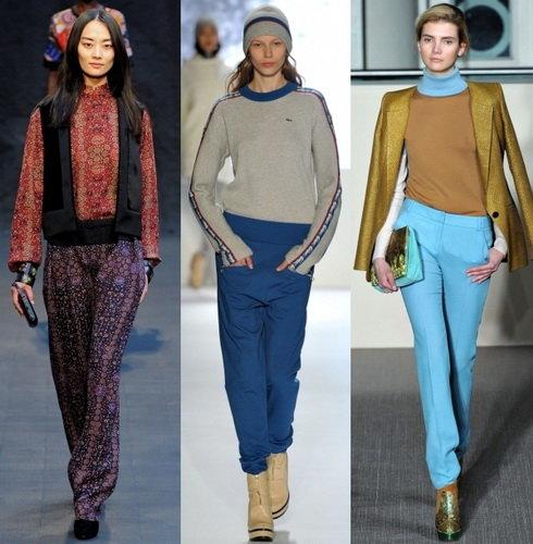 Модные женские брюки 2013 — фото