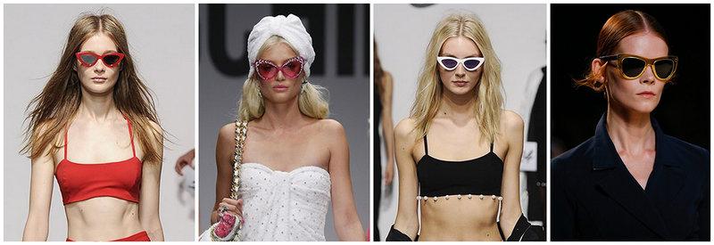 Модные женские очки Весна - Лето 2015