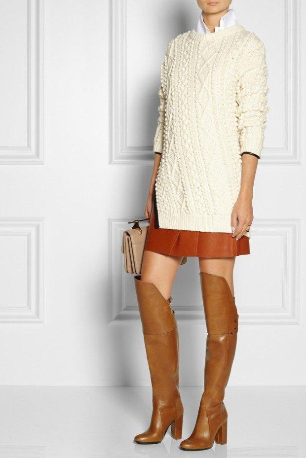 Модные женские зимние сапоги 2015. Решаем, с чем носить