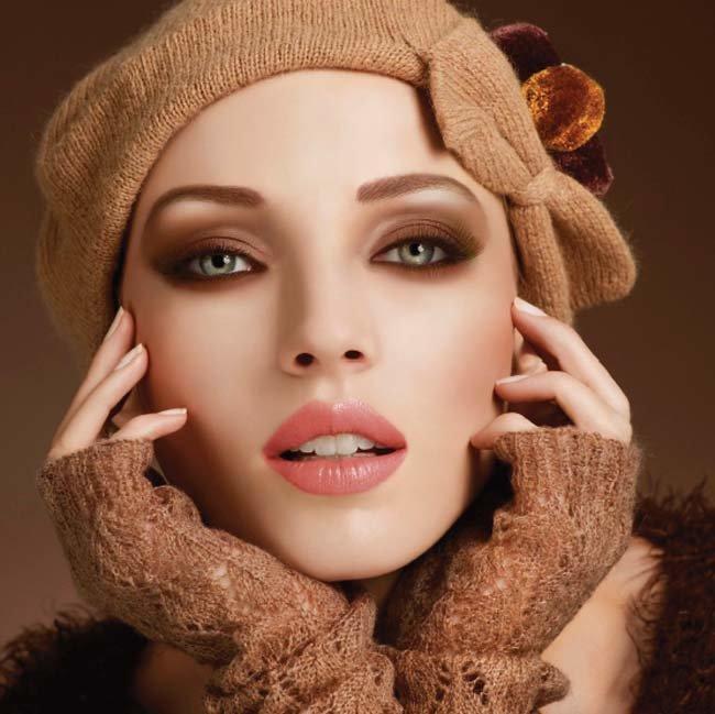 модный мейкап осени