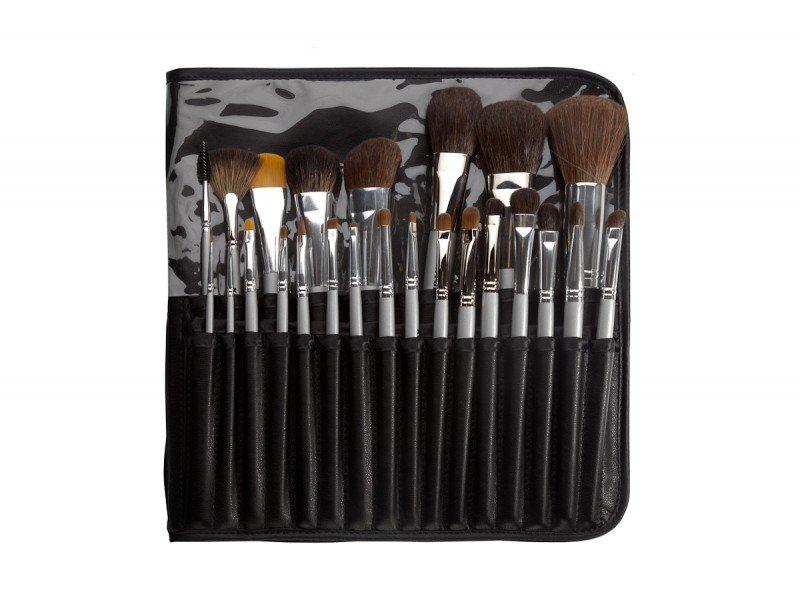 Набор из 24 кистей в футляре  - Наборы кистей для макияжа