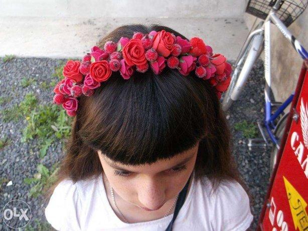 Ободок для волос с розами Рокитное - изображение 1