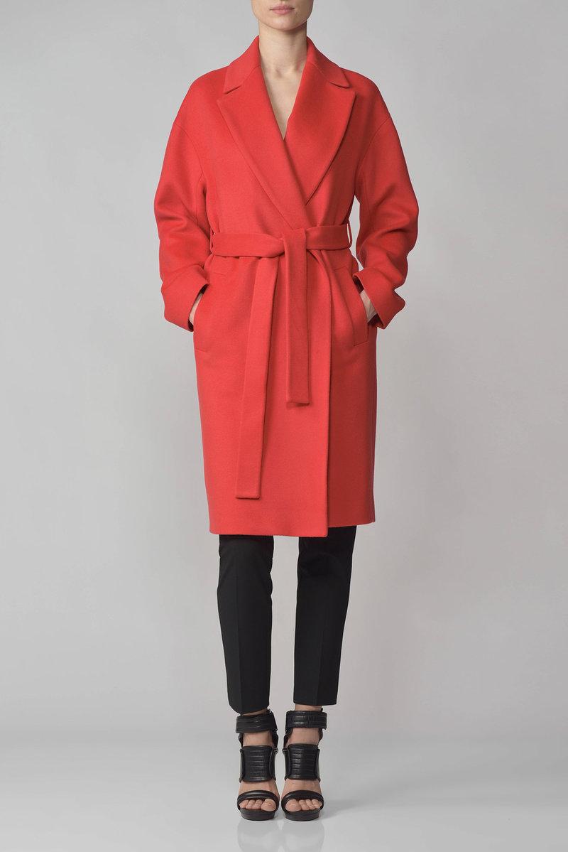 Официальный интернет магазин VASSA&Co - Женская коллекция - Пальто   V151206S-1034C40