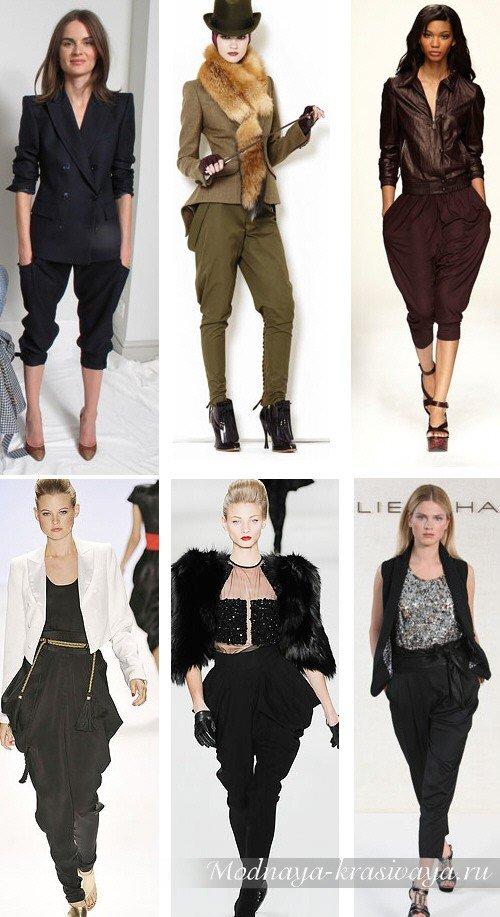 С чем носить брюки галифе девушкам?