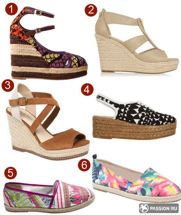 Самая модная обувь лета 2014