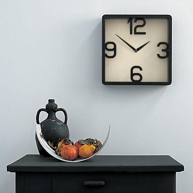 Самые стильные часы на стену - 18 фото | Дизайн интерьера