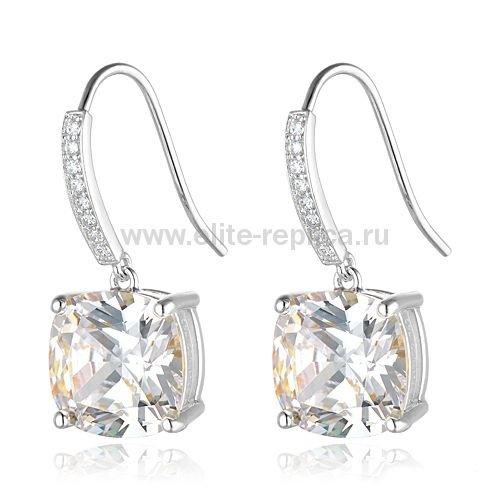 Серьги Tiffany & Co Brilliant Diamond Earrings (white gold)