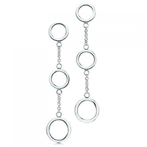Серьги Tiffany Round Links