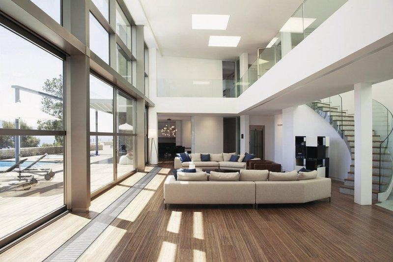 Средиземноморский стиль в интерьере гостиной