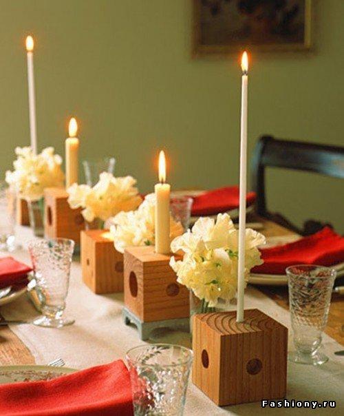 Свечи как декор интерьера / свечи в интерьере