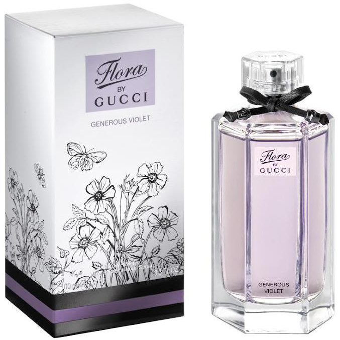 Туалетная вода Flora by Gucci Garden Collection: Generous Violet 100ml