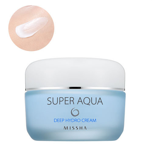 Увлажняющий корейский крем для лица Missha Deep Hydro Cream - 1