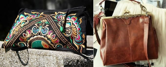 Женские винтажные сумки