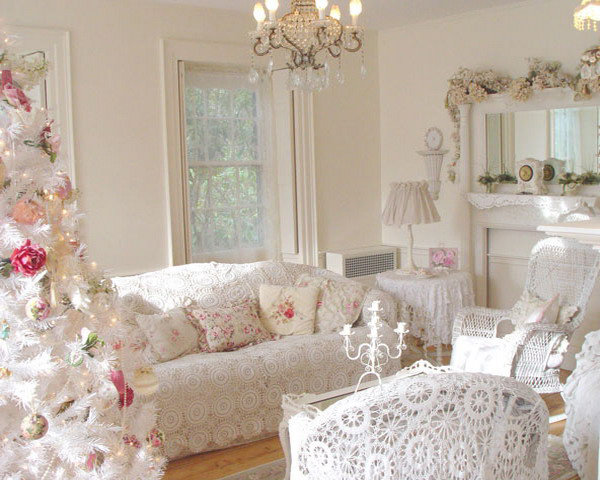 Описание и коллекция стиля шебби шик в интерьере и декоре квартиры.