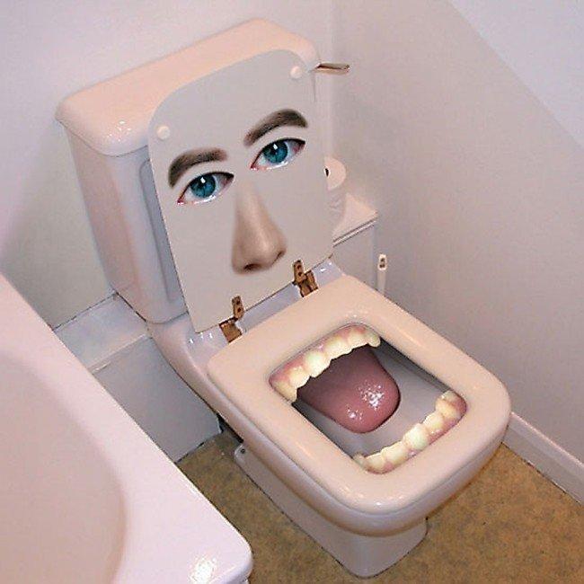 Прикольные картинки с туалета, юмор картинках