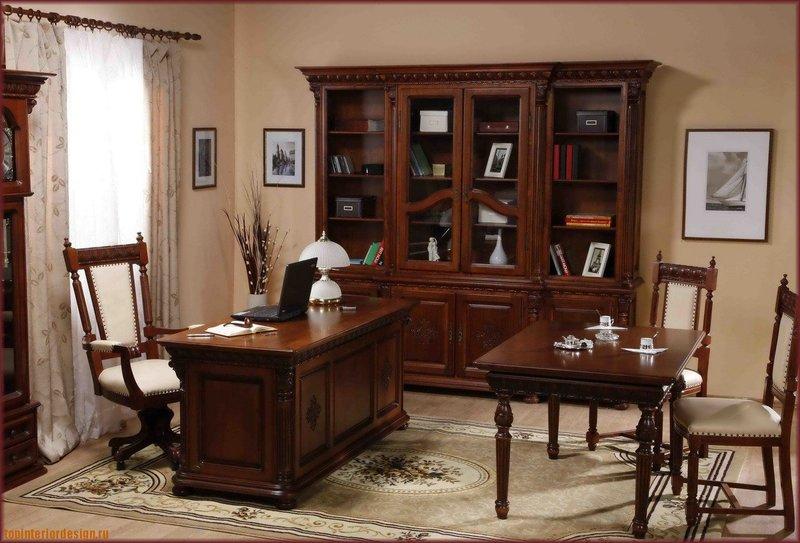 Интерьер домашнего кабинета